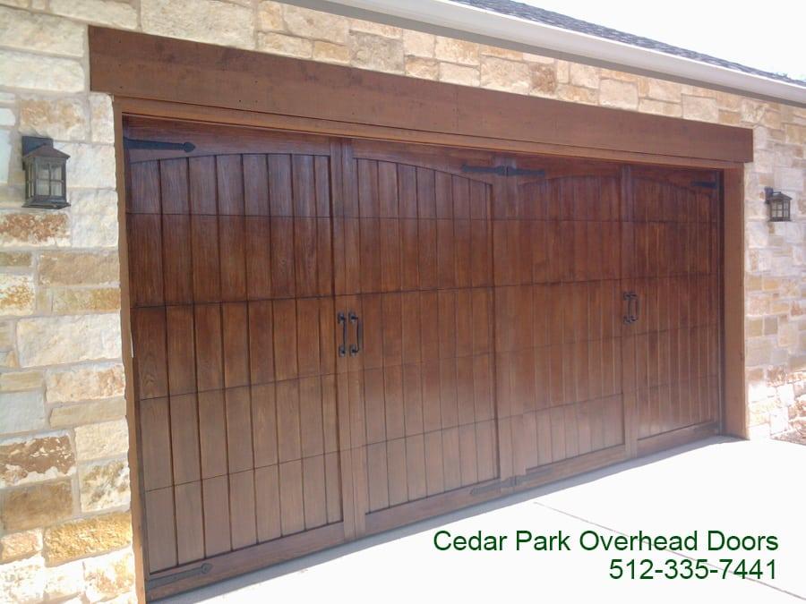 how to fix hole in fiberglass garage door