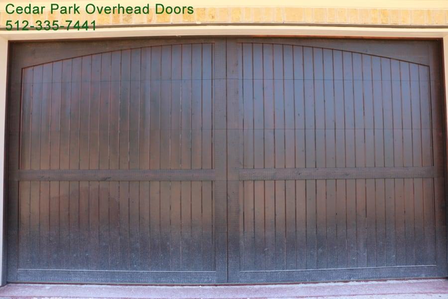 Custom Wood Garage Doors In Austin Tx Cedar Park