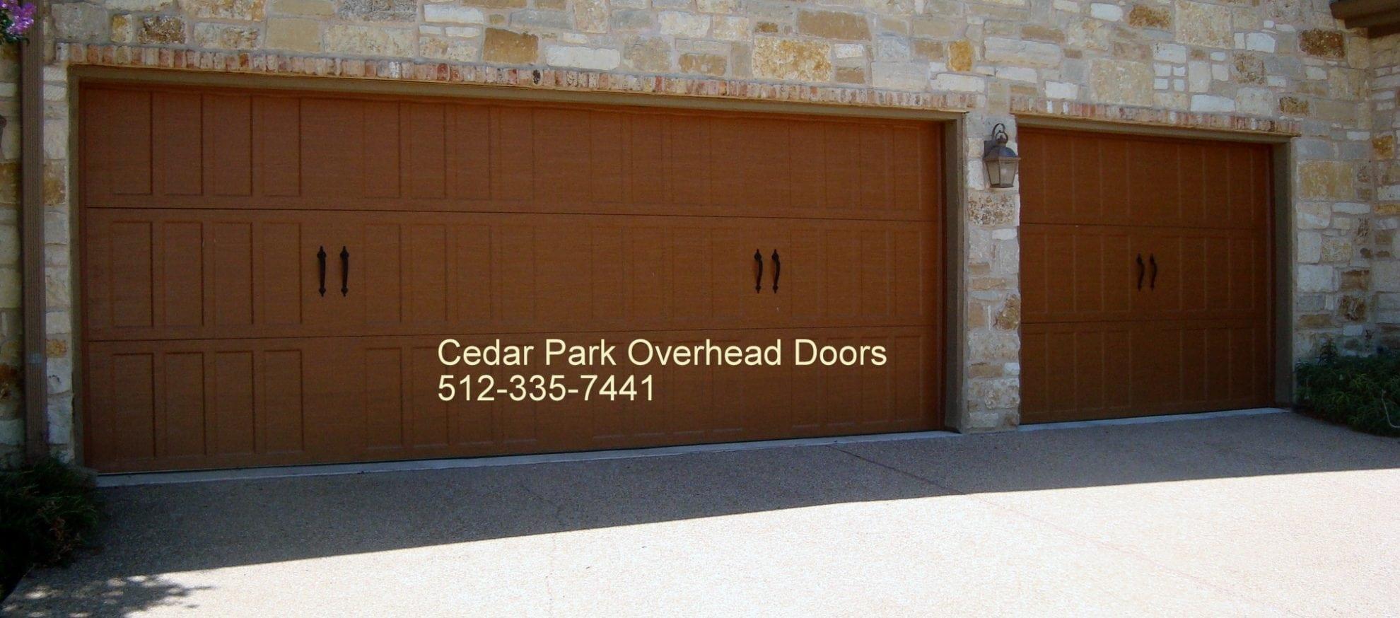 Carriage Style Garage Doors in Austin TX   Cedar Park Overhead ...