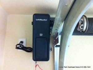Liftmaster 8500 Jackshaft Openers Installed By Cedar Park