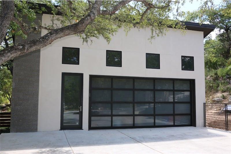 Full View Aluminum Garage Doors By Cedar Park Overhead Doors